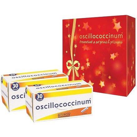 Oscillococcinum 2x30 dávek, vánoční balení