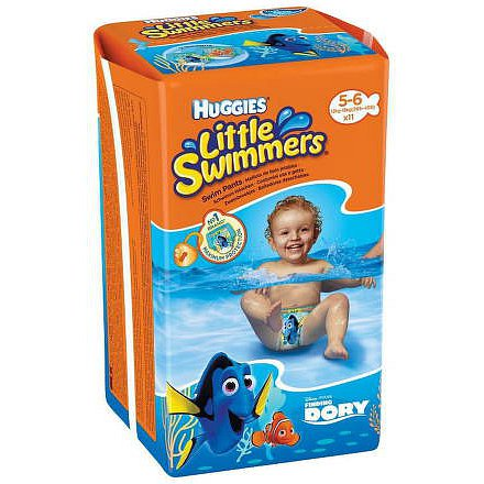 Plavací plenky Little Swimmers pro batolata s váhou 12-18 kg.