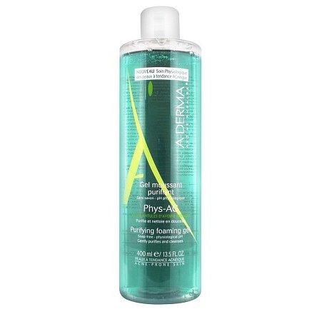 A-DERMA Phys-AC čistící pěnivý gel 400ml