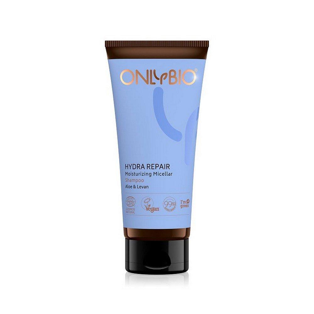 ONLYBIO Hydra Repair micelární šampon pro suché a poškozené vlasy 200 ml