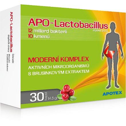 APO-Lactobacillus 10 + orální tobolky 30