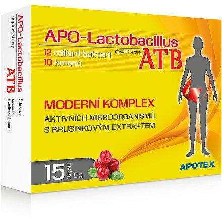APO-Lactobacillus ATB orální tobolky 15