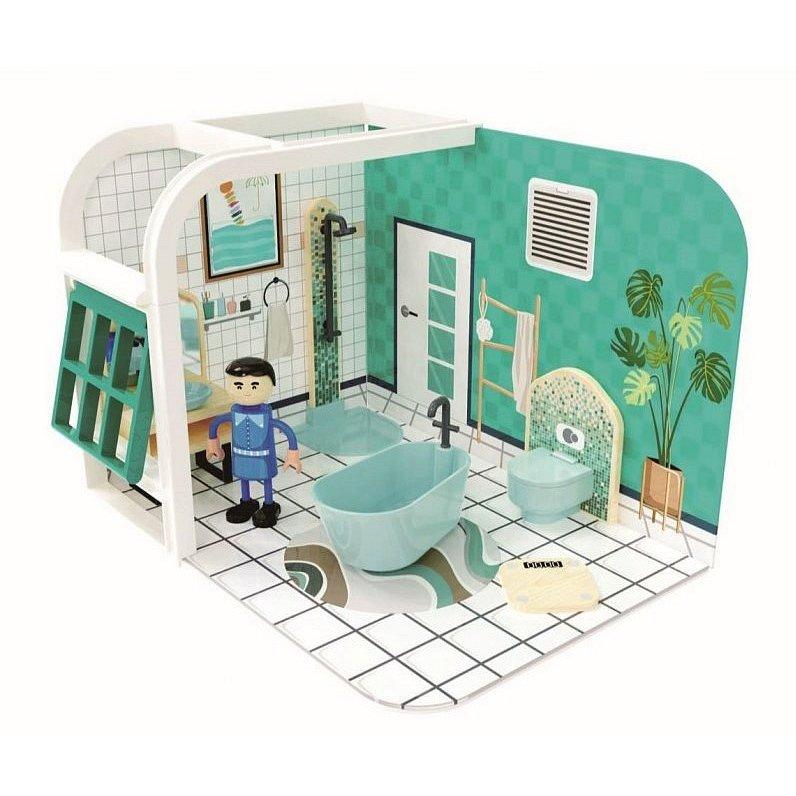 Dřevěný hrací set koupelna 36m+