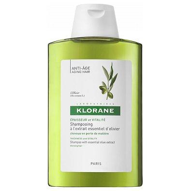 KLORANE Olivier šampon proti slábnoucím vlasům 200ml