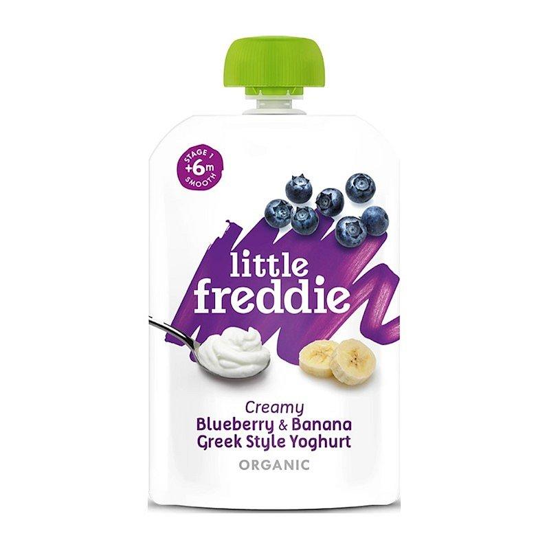 Little Freddie Borůvky s banánem v řeckém jogurtu 6 x 100 g