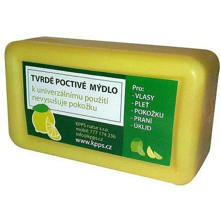 Kappus Koupelové tvrdé poctivé mýdlo citron 150g