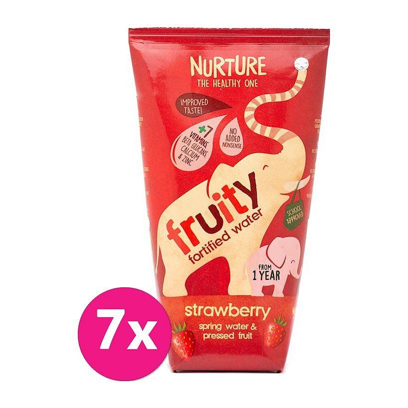 7 x NURTURE Fruity ovocný nápoj ovocný nápoj jahoda 200 ml