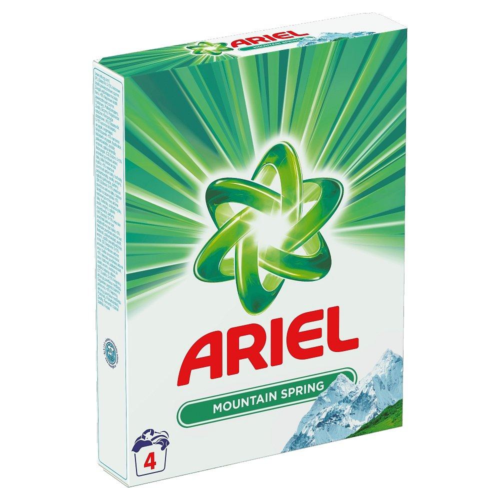 Ariel prášek M.Spring 4 prací dávky