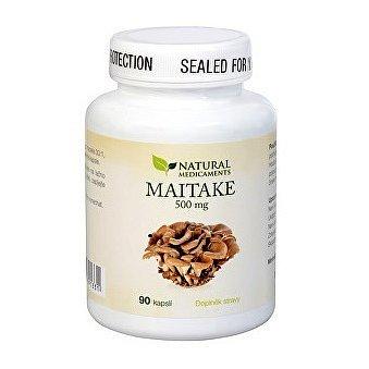 Natural Medicaments Maitake 500 mg cps.90