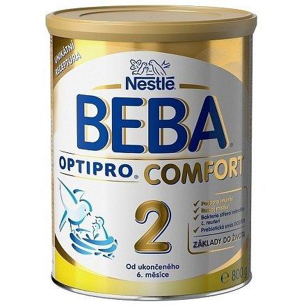 NESTLÉ Beba OPTIPRO Comfort 2, mléčná kojenecká výživa, 800g