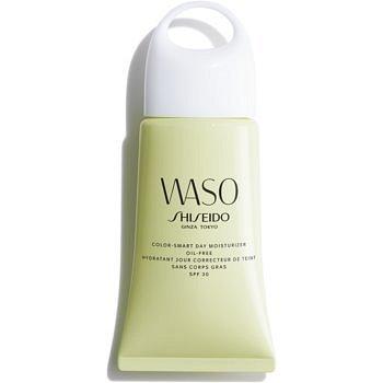 Shiseido Waso Color-Smart Day Moisturizer hydratační denní krém pro sjednocení tónu pleti bez obsahu oleje SPF 30 50 ml