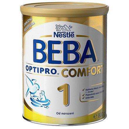 NESTLÉ Beba OPTIPRO Comfort 1, mléčná kojenecká výživa, 800g