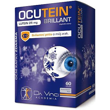 Ocutein Brillant Lutein 25 mgDaVinci 60 tobolky