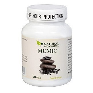 Natural Medicaments Mumio 250mg tbl.90