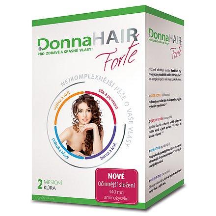 Donna HAIR forte 2 měs. kúra 60 tobolek