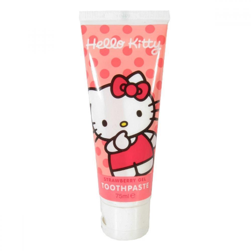 Hello Kitty zubní pasta - jahodový gel 75ml