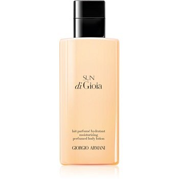 Armani Sun di  Gioia tělové mléko pro ženy 200 ml