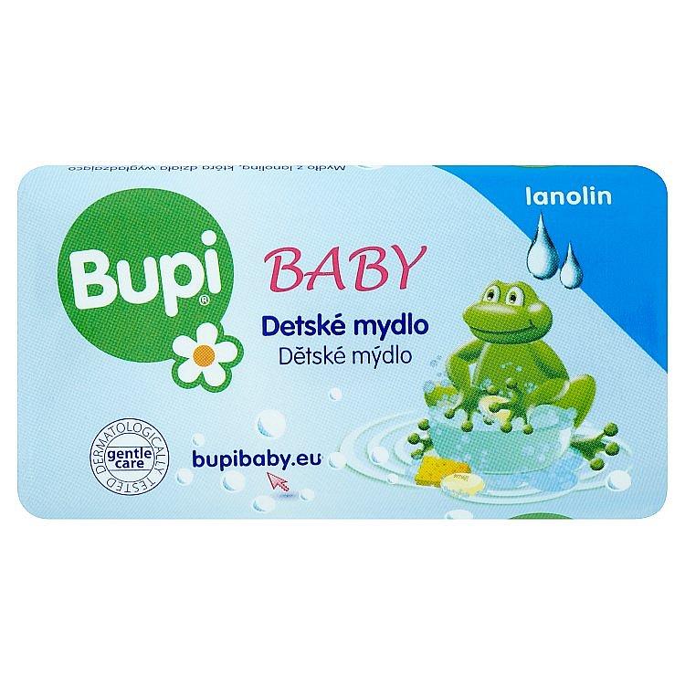 Bupi Dětské mýdlo s lanolínem 100 g