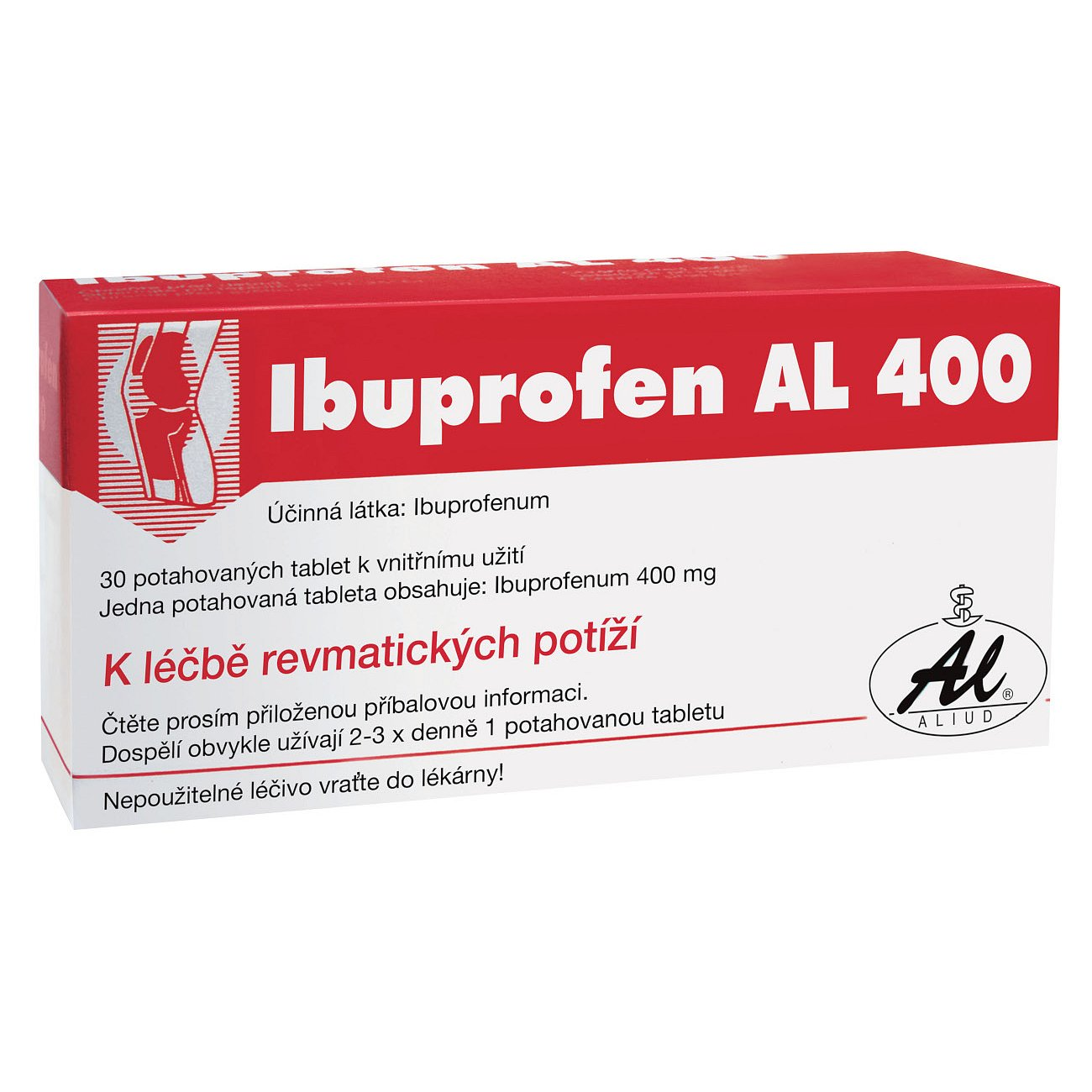 Ibuprofen AL 400 400mg 30 tablet