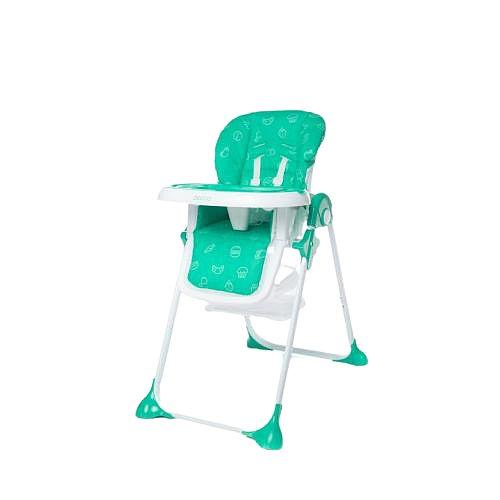 4baby Jídelní židlička Decco turkus