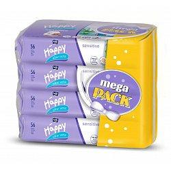Bella Čistící ubrousky s aloe vera mega pack 4x56 ks