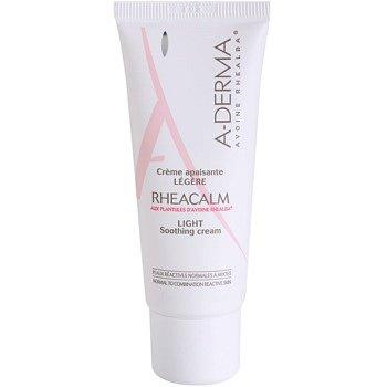 A-Derma Rheacalm zklidňující krém pro normální až smíšenou pleť 40 ml