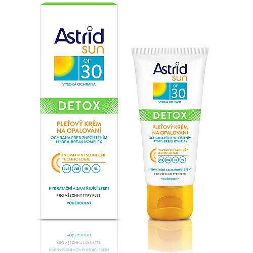 Astrid Pleťový krém na opalování OF 30 Sun Detox  50 ml