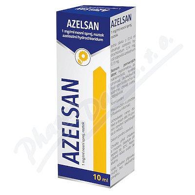 AZELSAN 1MG/ML nosní podání SPR SOL 1X10ML