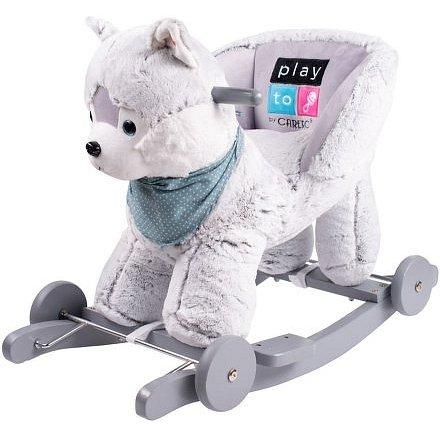 Houpací hračka s kolečky PlayTo husky