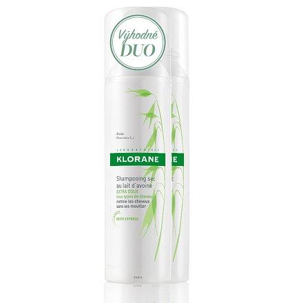 KLORANE Avoine dry shamp 150ml DUO