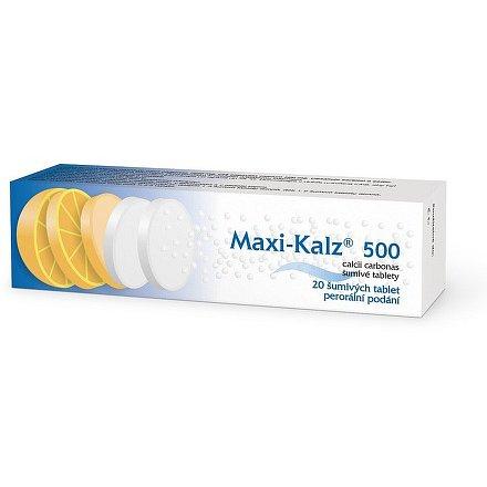 Maxi-Kalz 500mg tbl.eff. 20