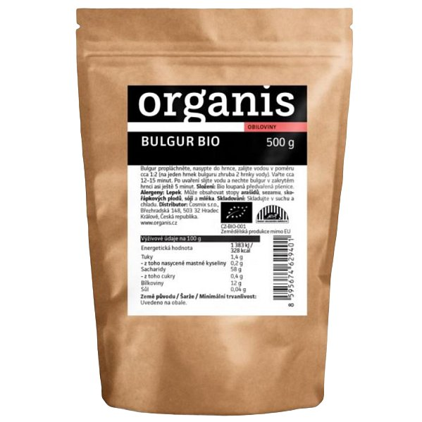 Organis Bulgur BIO 500g