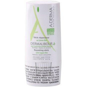 A-Derma Dermalibour+ regenerační tyčinka pro podrážděnou pokožku 8 g