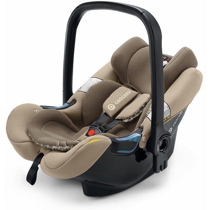CONCORD Autosedačka Air.Safe + Clip Powder Beige 0 - 13 kg 2018