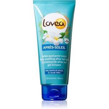Lovea After Sun zklidňující gel po opalování s aloe vera  200 ml