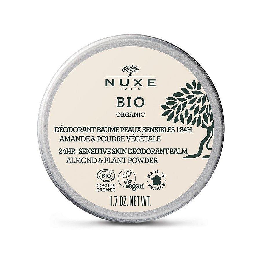 Nuxe BIO Organický 24h balzámový deodorant pro citlivou pokožku 50 g
