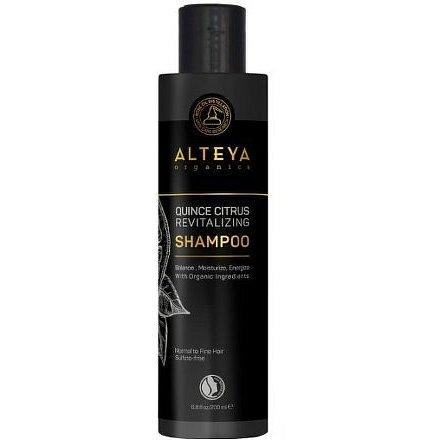 Alteya Revitalizační šampon na normální až jemné vlasy dula a citrus 200ml