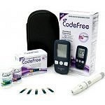 Glukometr AKCE SD-Codefree +50 proužků navíc