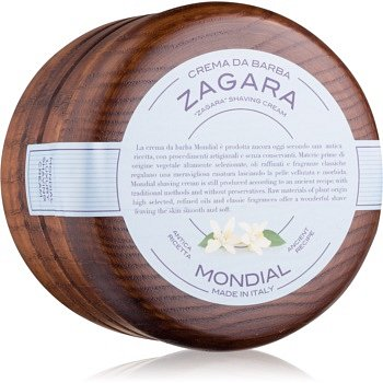 Mondial Luxury Wooden Bowl  krém na holení Zagara 140 ml