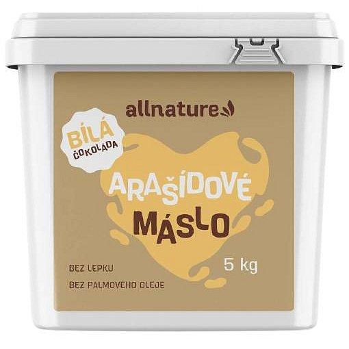 Allnature Arašídové máslo s bílou čokoládou 5kg