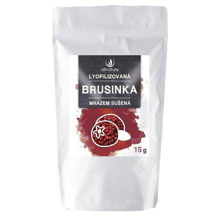 Allnature Brusinka sušená mrazem celá 10 g