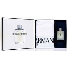 Armani Acqua di Gio Man Dárková sada pánská toaletní voda 100 ml a ručník Armani