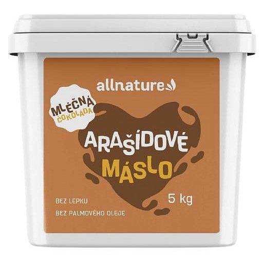 Allnature Arašídové máslo s mléčnou čokoládou 5kg