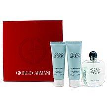 Armani Acqua di Gioia Dárková sada dámská parfémovaná voda 50 ml, tělové mléko Acqua di Gioia 75 ml a sprchový gel Acqua di Gioia 75 ml