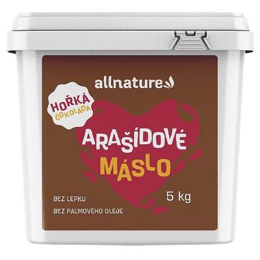 Allnature Arašídové máslo s hořkou čokoládou 5kg