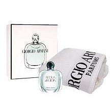 Armani Acqua di Gioia Dárková sada dámská parfémovaná voda 100 ml a ručník Armani