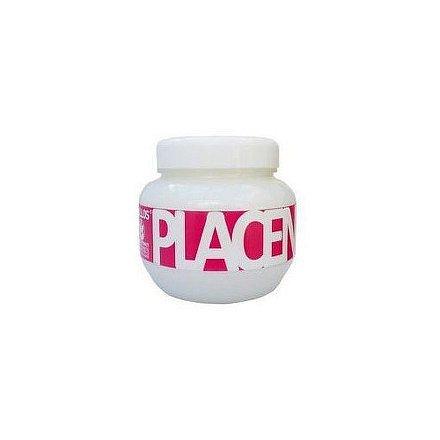Oživující maska pro suché a poškozené vlasy s výtažkem z Placenty (Placenta Hair Mask) - Objem: 275 ml