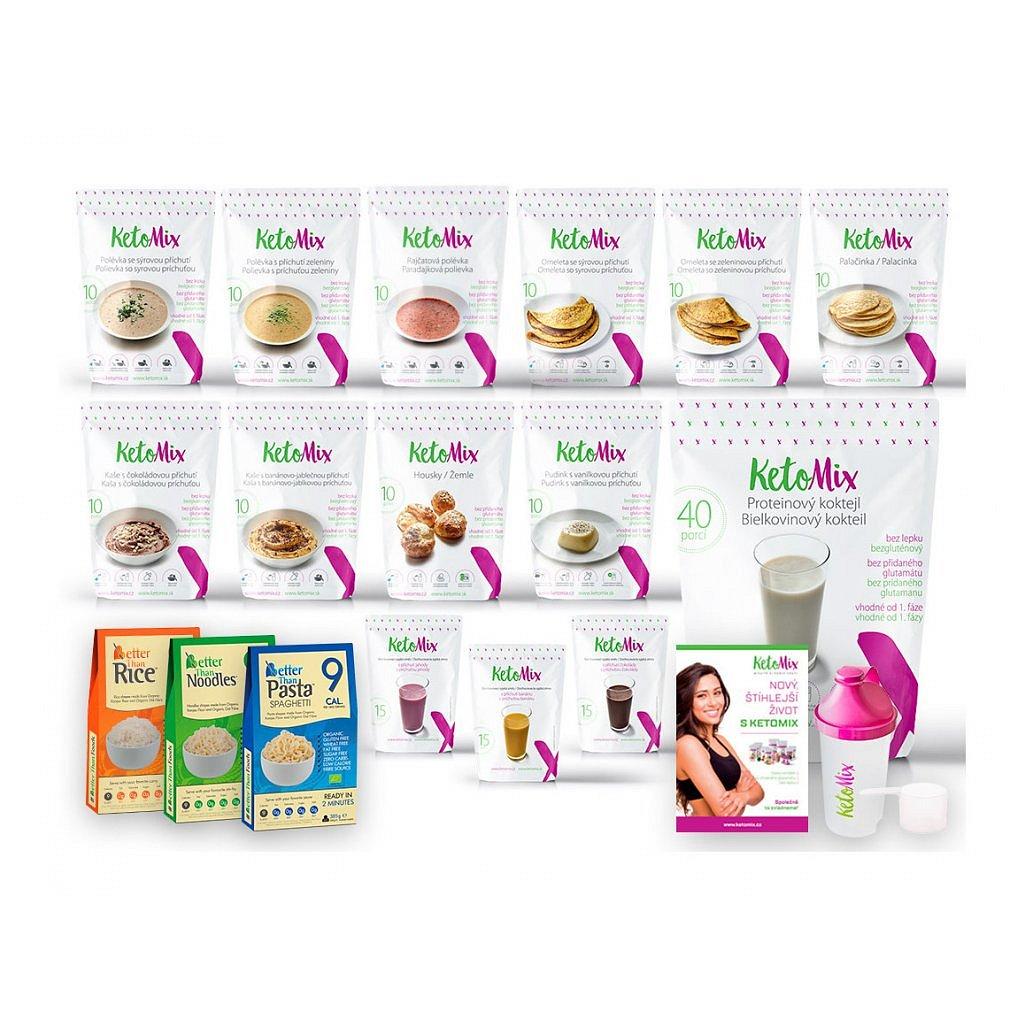 KetoMix Ketonová dieta na 4 týdny (140 porcí)
