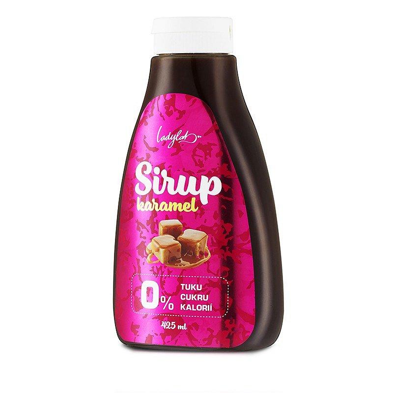 Ladylab Zero sirup s příchutí karamelu 425ml
