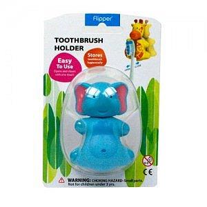 FLIPPER FUN ANIMAL ELEPHANT antibakteriální kryt na zubní kartáček